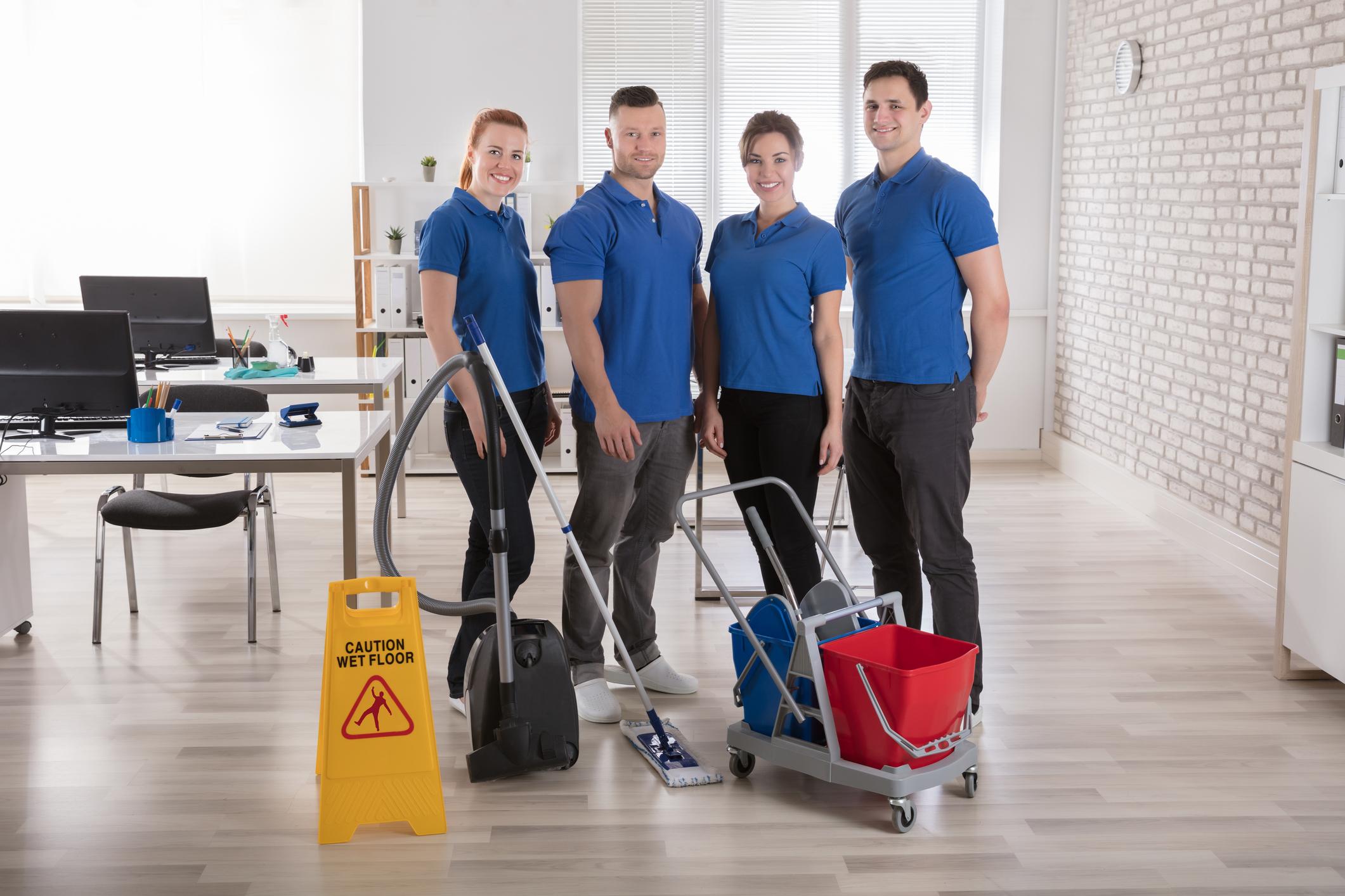 Terceirização da limpeza: previna doenças no local de trabalho