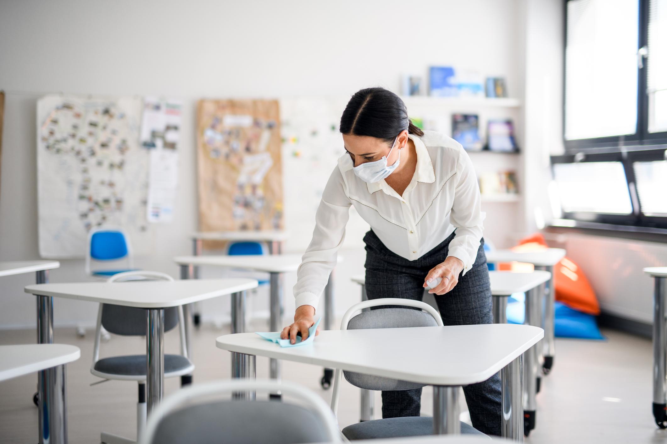 Escolas: a importância da higienização em tempos de pandemia